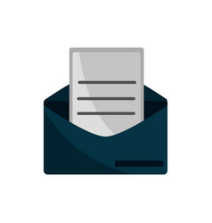 Email letter property intellectual copyright icon vector