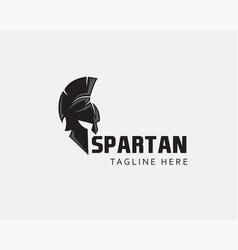 Head spartan logo spartan logo vector