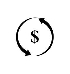 Money investment icon vector