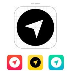 Pointer arrow icon vector