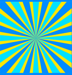 Retro comic yellow and blue background raster vector