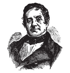 washington irving vintage vector image