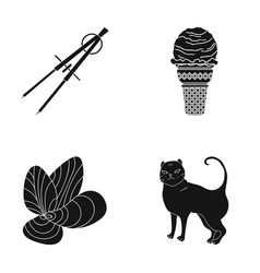 cafe rest architecture and other web icon in vector image