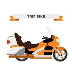motorcycle Moto bike isolated vector image vector image