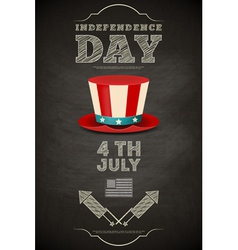 Independence Day American vector image vector image