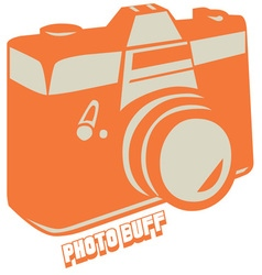 Photo Buff vector image