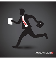side business runner vector image