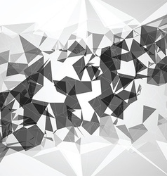 Abstract poly background vector image