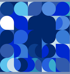 Abstract trendy geometric background vector