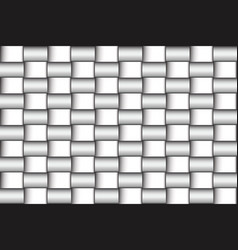 Mosaic seamless twisted of polished vector