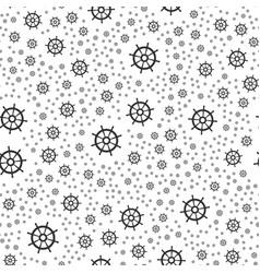 Rudder seamless pattern vector