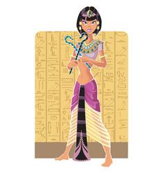Tsarina egypt light vector