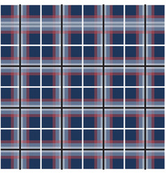 checkered lines seamless design texture vector image vector image