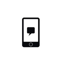 isolated conversation icon digital element vector image