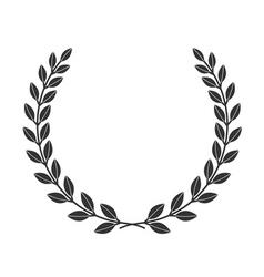 laurel wreath icon border 8 1 vector image vector image