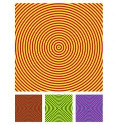 optical illusion background vector illustration vector image vector image