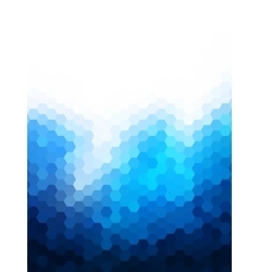 Polygonal Background for webdesign - Blue colors vector image vector image