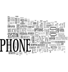 A phone by any other name text word cloud concept vector