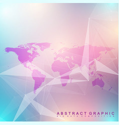 geometric graphic background communication big vector image