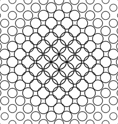 Seamless circle pattern vector