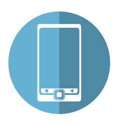 Smartphone mobile technology device image vector