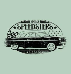 speedsters vector image