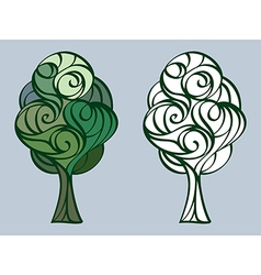 Tree 17 vector