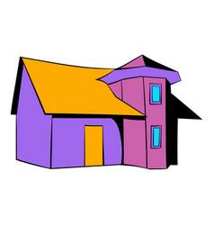 cottage icon icon cartoon vector image
