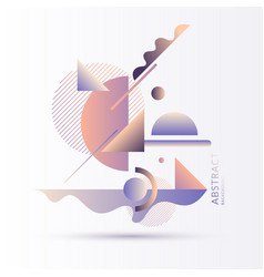 a surreal composition different abstract and vector image