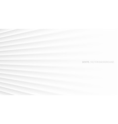 minimalist white abstract background 3d smooth vector image