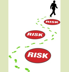 Risk management business vector