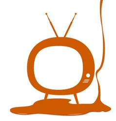 Television design vector image