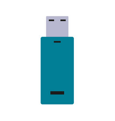 Usb drive icon image vector