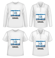 White shirts vector