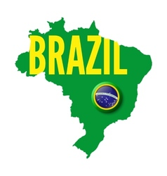 Brazil Background for your presentations vector image