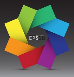 Colorful design element background eps10 vector image vector image