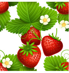 plant seamless textures with eating vector image vector image