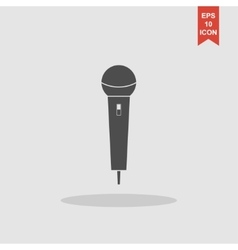 Microphone Icon Flat vector image