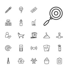 22 shadow icons vector