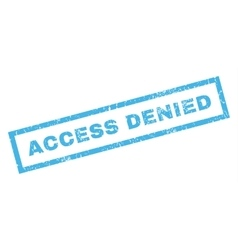 Access Denied Rubber Stamp vector image
