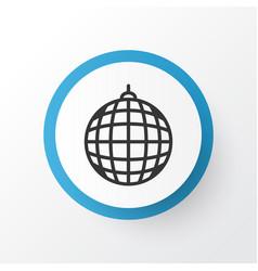 Disco ball icon symbol premium quality isolated vector