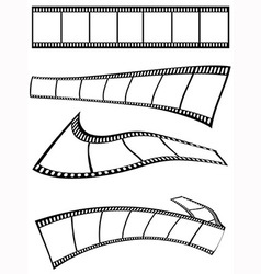 film strips design vector image