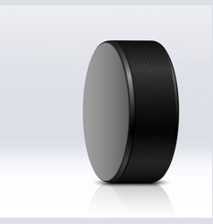 hockey puck vector image