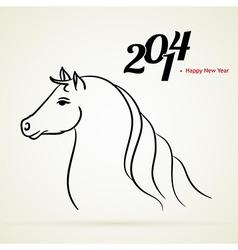 Horse 2014 vector