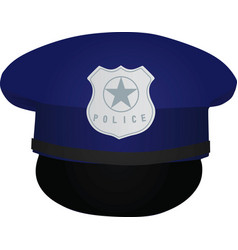 Police hat vector