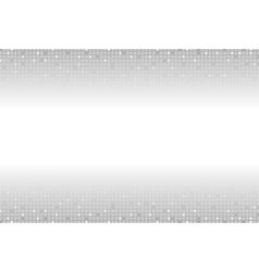Shiny light sparkling grey squares background vector image