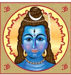 Shiva icon vector