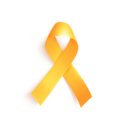 World childhood cancer symbol 15th february vector