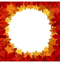 autumn frames vector image vector image