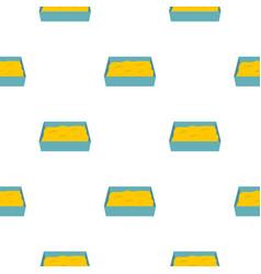 Cat toilet pattern seamless vector